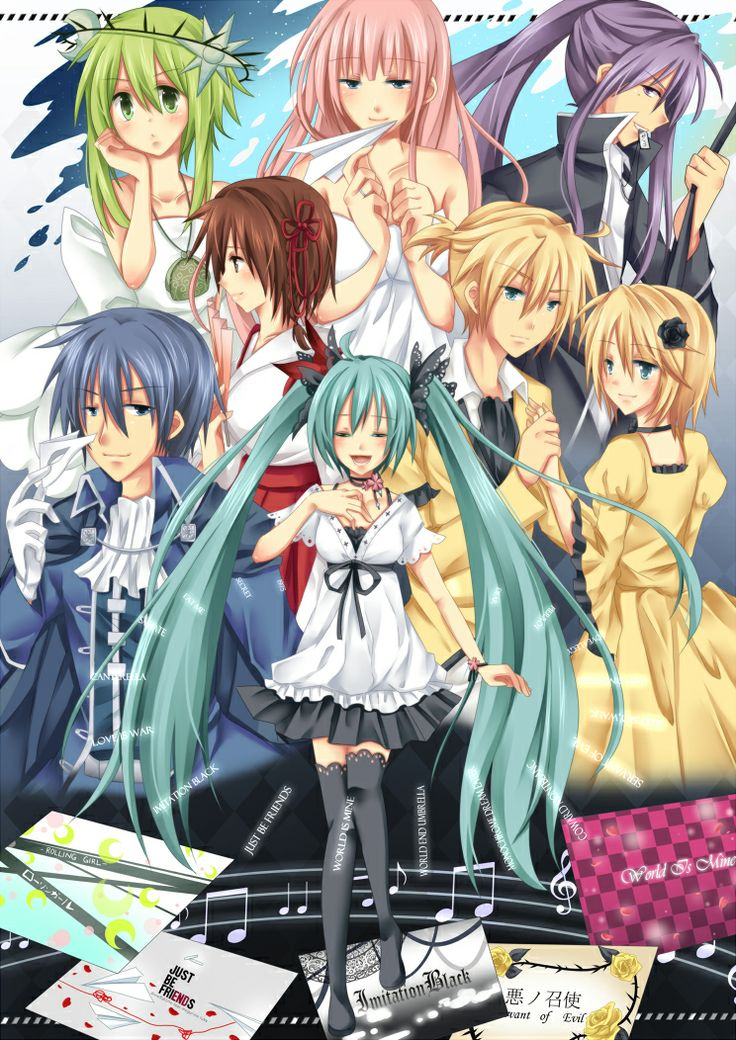 124 best images about Vocaloid Song Illustrations on ... Vocaloid Kaito Songs