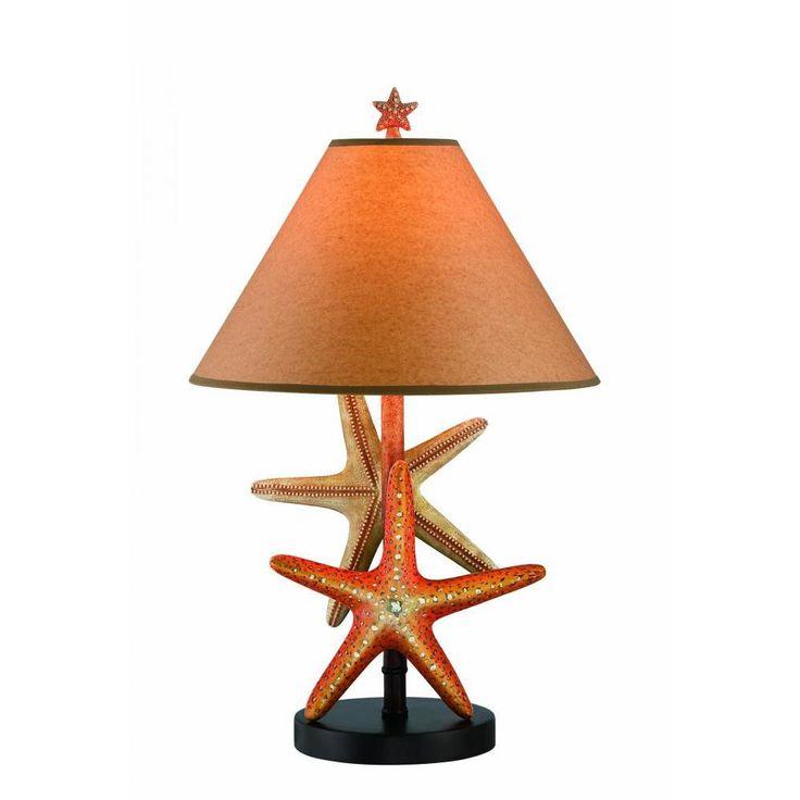 Filament Design 25.5 in. Dark Brown Table Lamp