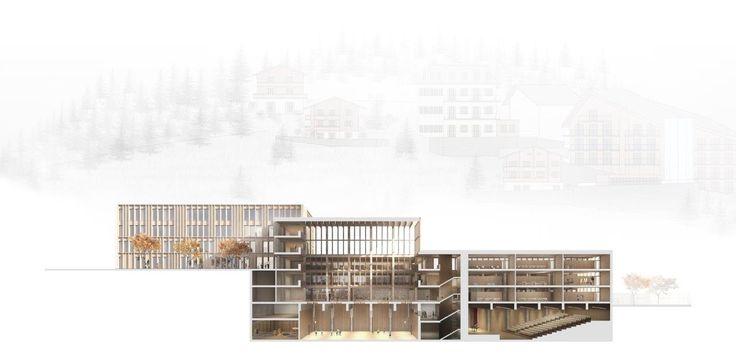 Ergebnis: Schulanlage Walka mit Auditorium Zermatt...competitionline
