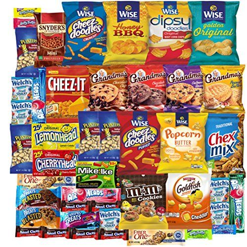Cookies Chips  Candies Care Package Variety Pack Bundle Assortment Bulk Sampler 45 Count -- Details can be found by clicking on the image.Note:It is affiliate link to Amazon.