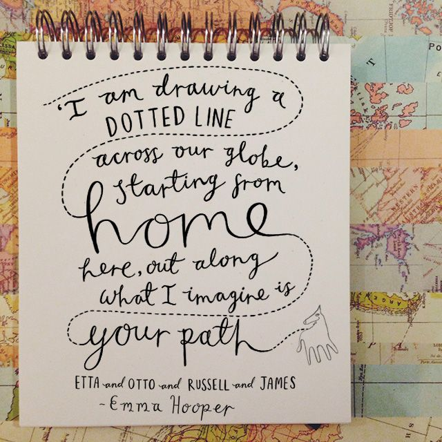 Etta and Otto and Russell and James- Emma Hooper #quote