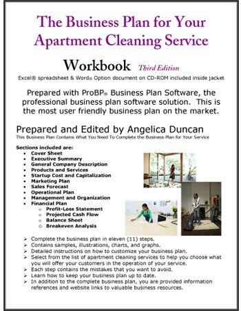 Apartment Cleaning Service Business Plan                                                                                                                                                      More