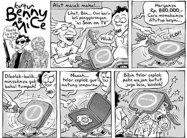 Benny & Mice, Kompas - 17 Januari 2010: Alat Masak Mahal