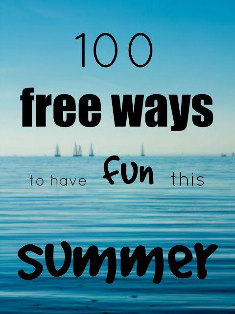 Swanocean: 100 free ways to have fun this summer-100 δωρεάν τρόποι για διασκέδαση αυτό το καλοκαίρι