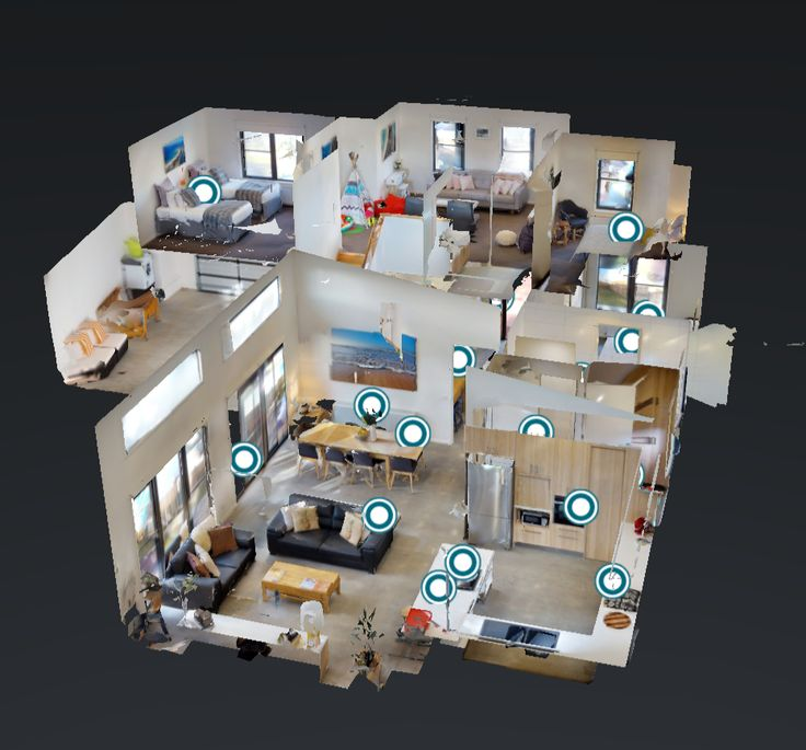 "3D walkthroughs are fun & interactive.   Click on the link below and explore ""Bell Air 2"".  I just this little dolls house!  Click on the link to wander through the house.....  #360now Thank you @360nowbiz"