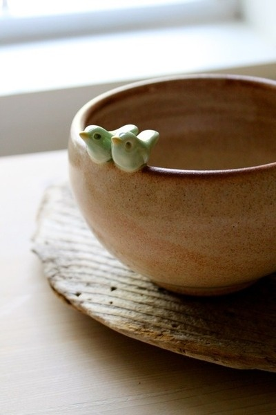 Bird Pottery