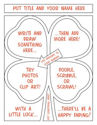 Shamrock comic strip demo...kids of all ages love making comics and these 40 templates provide plenty of options for a wide variety of projects to help meet Common Core State Standards. A few possibilities are retelling or writing stories; informational texts; math story problems; summaries; cause and effect; a step-by-step process; sequencing; writing a biography; using vocabulary words, idioms, similes, and more...download the Preview for more ideas.