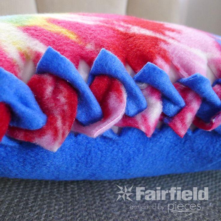 17 Best images about Fleece tie blankets on Pinterest Village houses, No sew fleece blanket ...