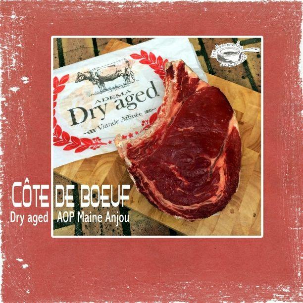 Côte de boeuf Dry aged AOP Maine Anjou (cuisson au four dans une cocotte en fonte)