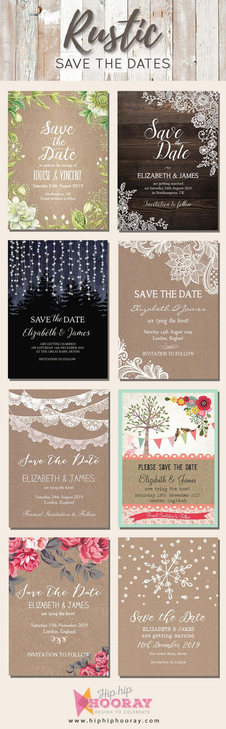 funny wedding invitation rsvp goes viral%0A A range of beautiful rustic save the date cards available  perfect for DIY  brides planning relaxed and informal yet thoughtful weddings