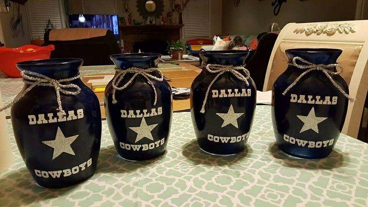 My Cowboys Baby Shower Centerpieces Dallas Cowboy In