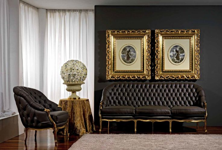 * Кожанная мягкая мебель Elegance в стиле арт-деко от фабрики Vismara * Leather sofa Elegance in art-deco style by factory Vismara