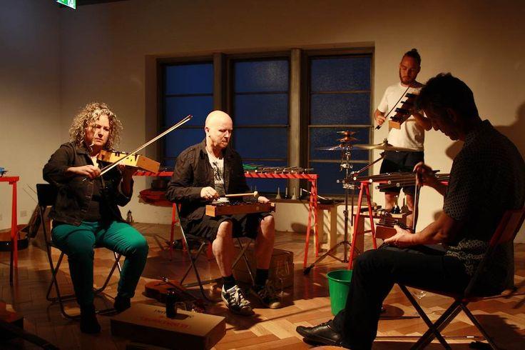 Re-tuned glockenspiels. Conduit Gallery 2012