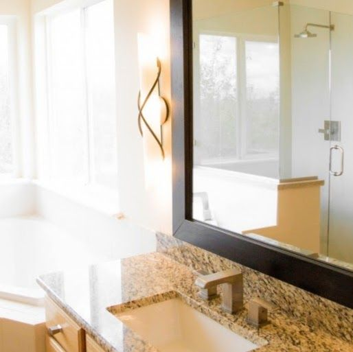Bathroom Remodel Accent Lighting Granite Countertops  #KitchenRemodeler #CustomHomeBuilder #BathroomRemodeler #TileContractor  Baer's Home Concepts - Google+ 8028 Chasewood Loop Colorado Springs, CO. 80908 (719) 439-5420 http://baerhc.com/  The Colorado Springs Area has been experiencing a rich and thriving real estate and home building market for the last 20+ years.