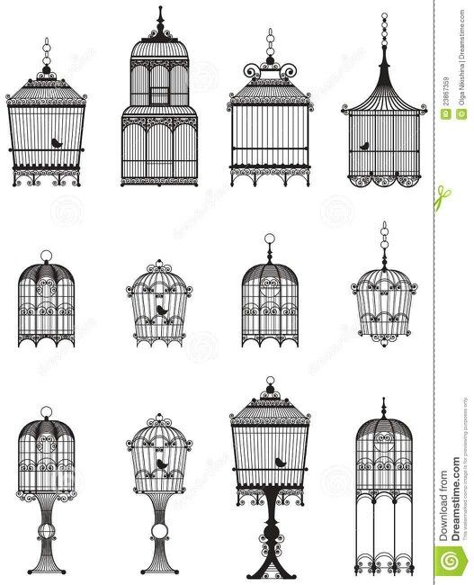 Bird cage tattoo ideas but with the gate open and a bird flying away..