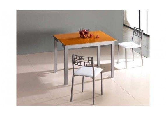 17 best images about mesas de cocina peque as fijas for Mesa cristal 100 x 50