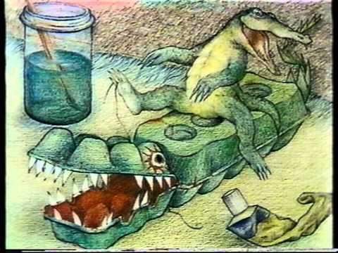 digitaal prentenboek: 'Er ligt een krokodil onder mijn bed'
