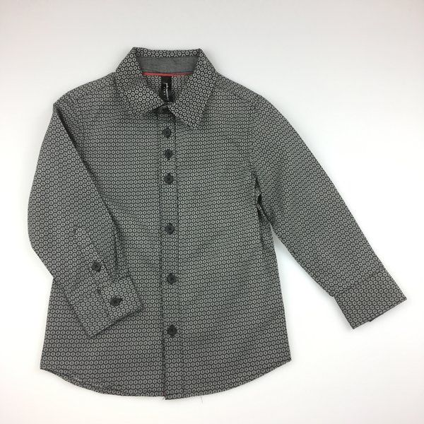 Peter Morrissey, long-sleeved cotton shirt, excellent pre-loved condition (EUC), boy's size 4, $11 #boysfashion #kidsfashion #shirts #petermorrissey #preloved #daisychainclothing