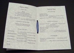 Wedding Programs for Catholic Ceremony! :o) | Weddings, Do It Yourself, Etiquette and Advice, Planning
