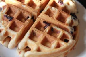 Blueberry Yogurt Waffles | Food. | Pinterest