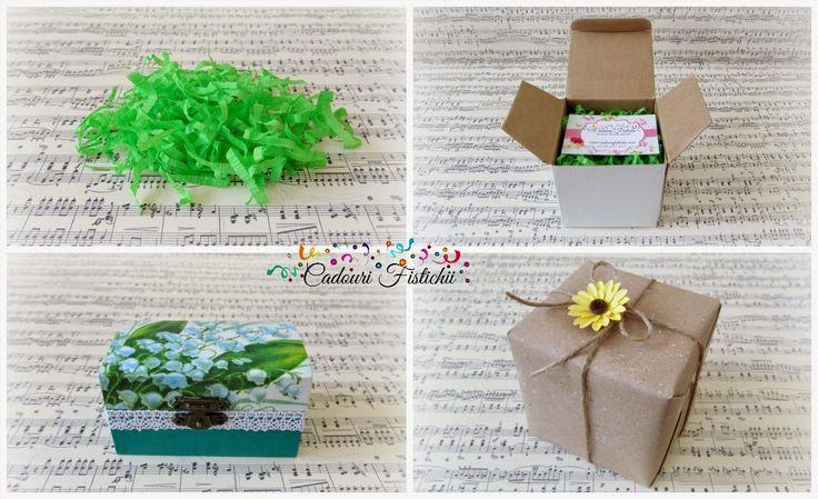 Cadouri Fistichii: Paper with love
