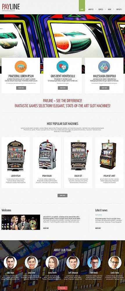 Online Casino website inspirations at your coffee break? Browse for more Moto CMS HTML #templates! // Regular price: $139 // Sources available:<b>Sources Not Included</b> #Online Casino #Moto CMS HTML