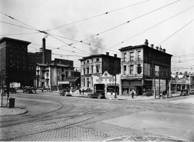 Second Street And West Broadway Louisville Kentucky
