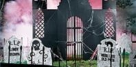 How to Create a Haunted Graveyard   #Halloween: Halloween Decorations, Holiday, Idea, Halloween Cemetery, Corex Crypt, Haunted House, Crypt Prop, Halloween Party