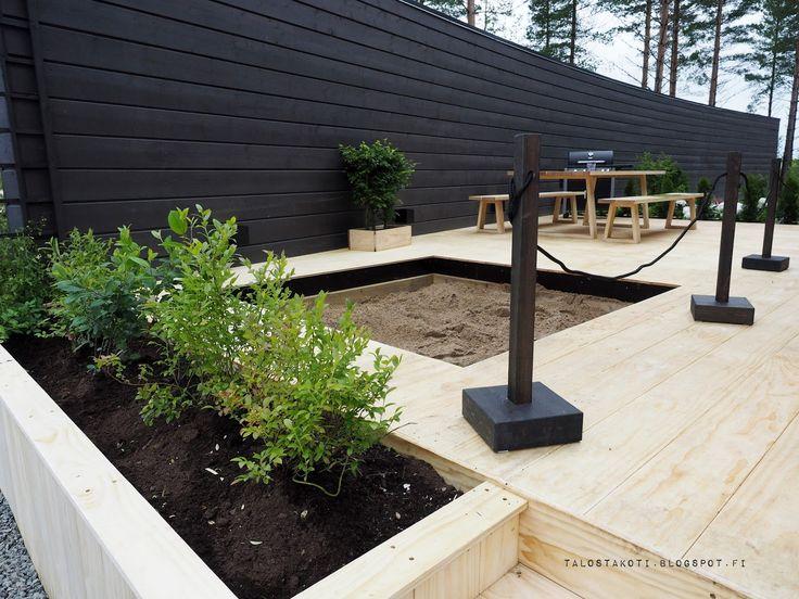 Asuntomessut 2016 Honka Riihi hiekkalaatikko