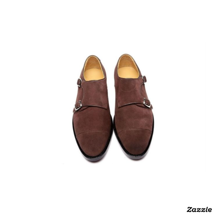 Chocolate Suede Handmade Goodyear Welted Monkstrap