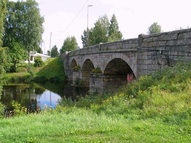 Old bridge in Närpes Finland photo by Ulla Silcock