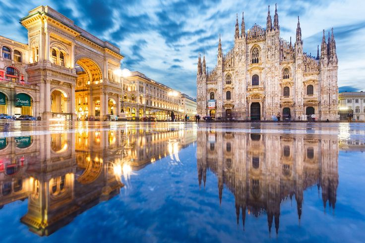 ***Milano Duomo [Milan Cathedral] after a rainy day by Loïc Lagarde on 500px