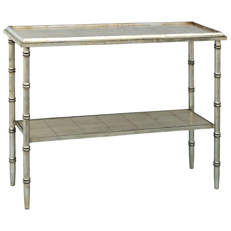 Verspiegelte Konsolentisch. Port 68 Doheny Silver Console Table   Style #  4D283