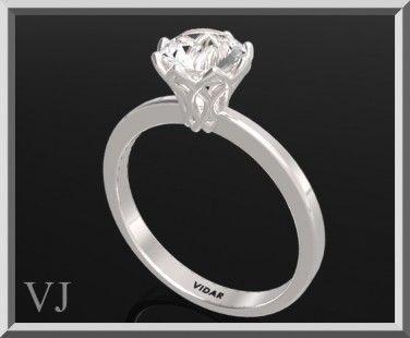 benvenuto Gioielli Vidar da Roi & Liron Avidar! specializzata in argento anelli di fidanzamento con diamante e pietra preziosa e set anello di nozze. dettagli: SKU: ENG138WT - 3515029