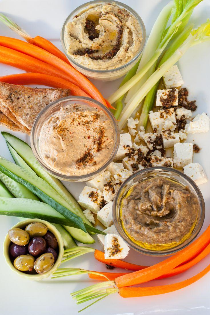 #Epicure Easy Mezze Platter #goodfoodrealfast