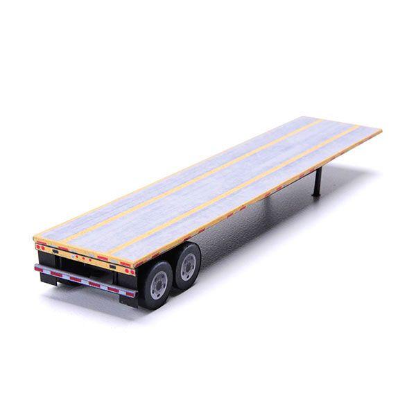 N Gauge flat bed trailer 40ft