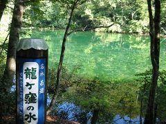 新潟県津南町にある竜ヶ窪の池がとっても神秘的で素敵( この池は1日約43000tもの湧き水が噴出していて1日1回池全体の水が入れ替わるから濁ることがなくて綺麗なんですよ 池全体がエメラルドグリーンの色をしているからまるで日本にいることを忘れてしまいそう ちょっと秘境的な場所にあるけど行ってみるといいですよ(o) tags[新潟県]