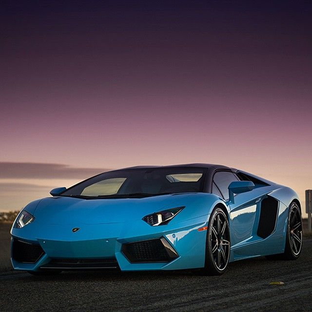 Lamborghini Aventador - One of the best cars money can buy.