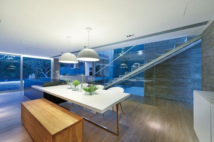 план частного дома, схема интерьера частного дома, Millimeter Interior Design, частные дома в Гонконге, дом в Гонконге, гараж в доме фото