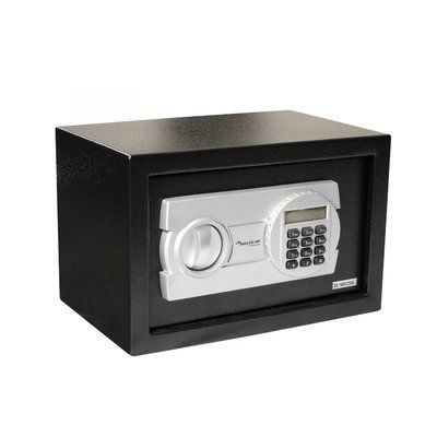 "American Furniture Classics Digital Home Safe Box with Electronic Lock Size: 9.8"" H x 13.8"" W x 9.8"" D"