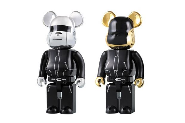 Daft Punk x Medicom Toy 1000% Bearbricks