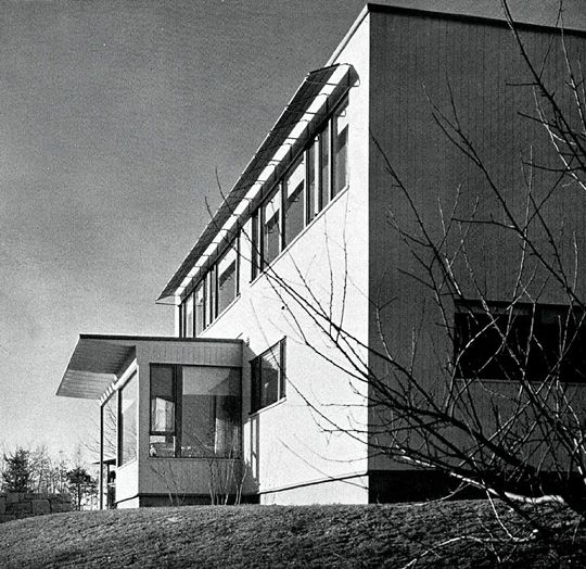 James Ford House, Lincoln MA (1939) | Marcel Breuer, Walter Gropius | Archweb