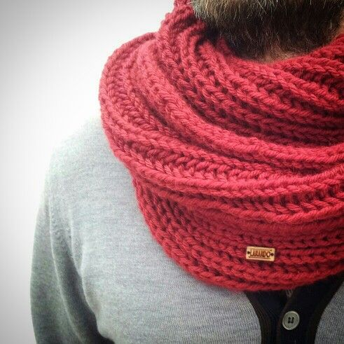Lanando scarf...collo da uomo in morbida merinos! #handmade #lanando#italy#wool#scarf#man