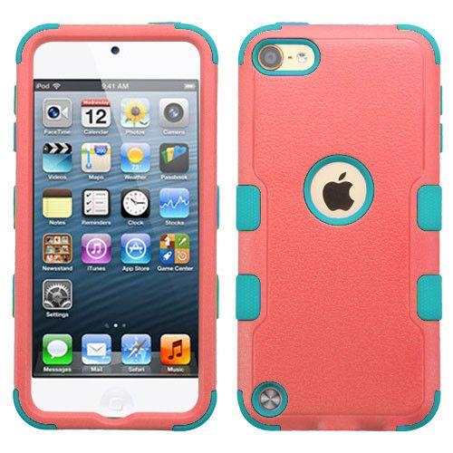 MYBAT TUFF II Apple iPod Touch 5th / 6th Gen Case - Baby Red/Teal
