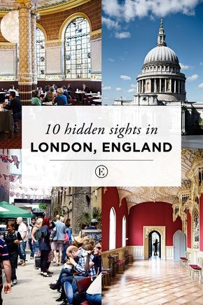 10 Hidden Sights in London, England #England #London #Travel
