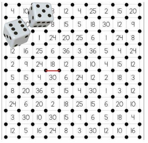 Tafelvierkantjes - voorbeelden