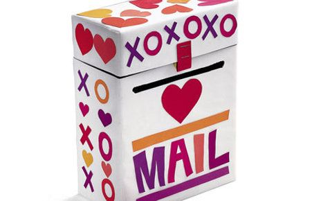 Buzón romántico para 14 de febrero.: Valentines Boxes, Crafts Ideas, Cereal Boxes, Valentine'S S, Kids Crafts, Valentines Day, Cards Boxes, Valentines Mailbox, Mail Boxes