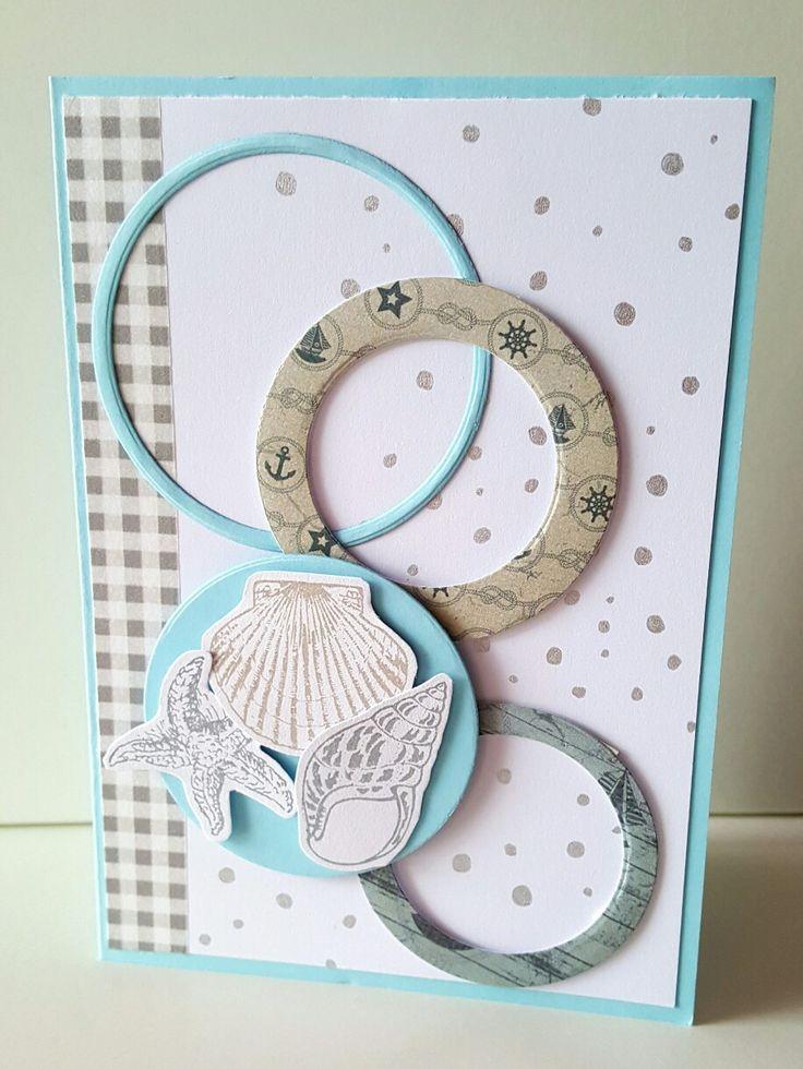 Strand kaart met ringen