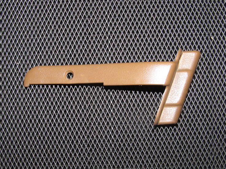 90-96 Nissan 300zx OEM Brown Seat Belt Holder Trim Cover - Passenger Side - Right