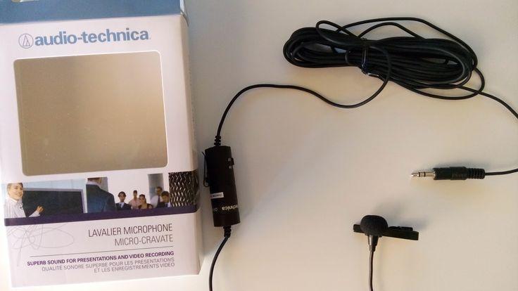 Unboxing del Micrófono de corbata Audio Technica ATR3350